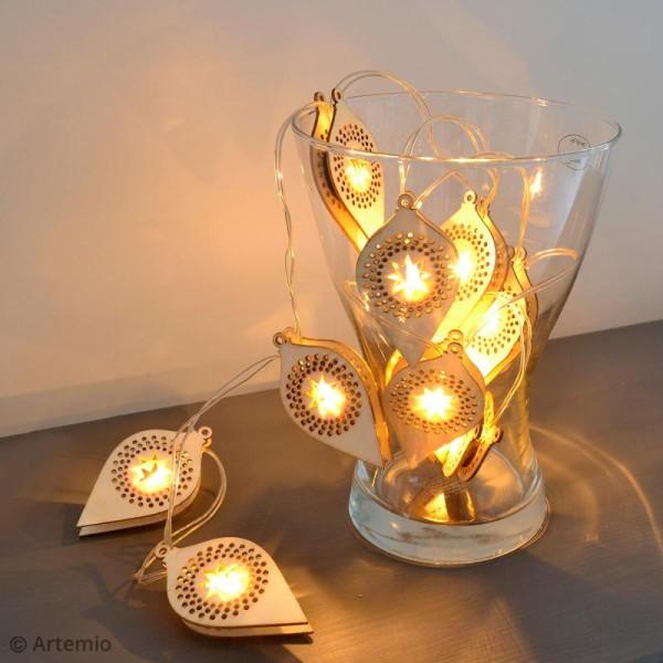 Guirlande Lumineuse à LED - Boules de Noël - Photo n°4