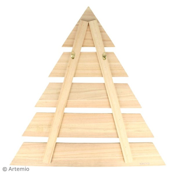 Sapin noel en bois design