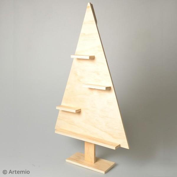 Etagère Sapin de Noël Triangulaire - 35 x 8 x 60 cm - Photo n°2