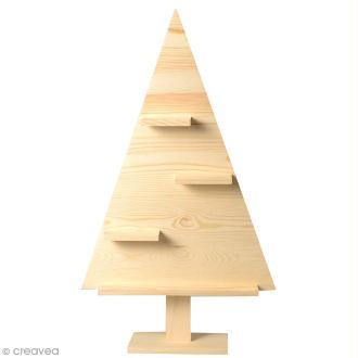 Etagère Sapin de Noël Triangulaire - 35 x 8 x 60 cm