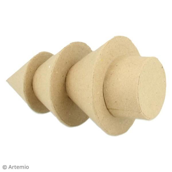 Forme en papier mâché - Sapin boule - 1 pce - Photo n°2