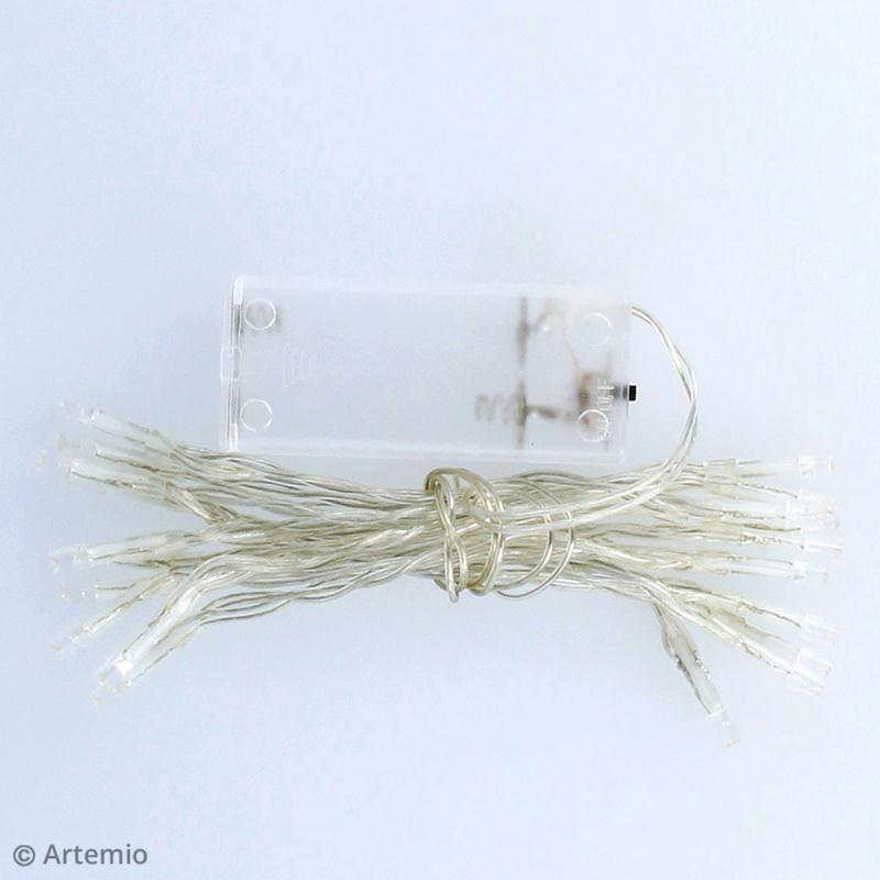 Guirlande lumineuse LED Artemio - 100 cm - 10 ampoules - Photo n°3