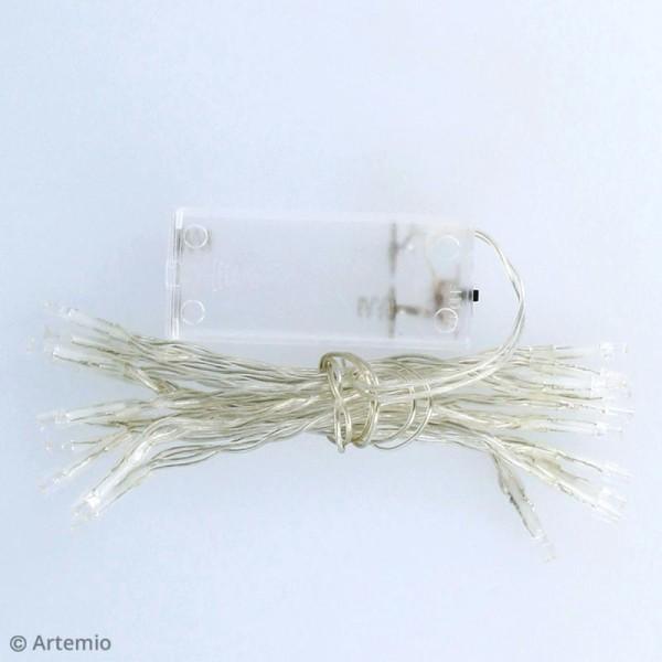 Guirlande lumineuse LED Artemio - 100 cm - 10 ampoules - Photo n°2