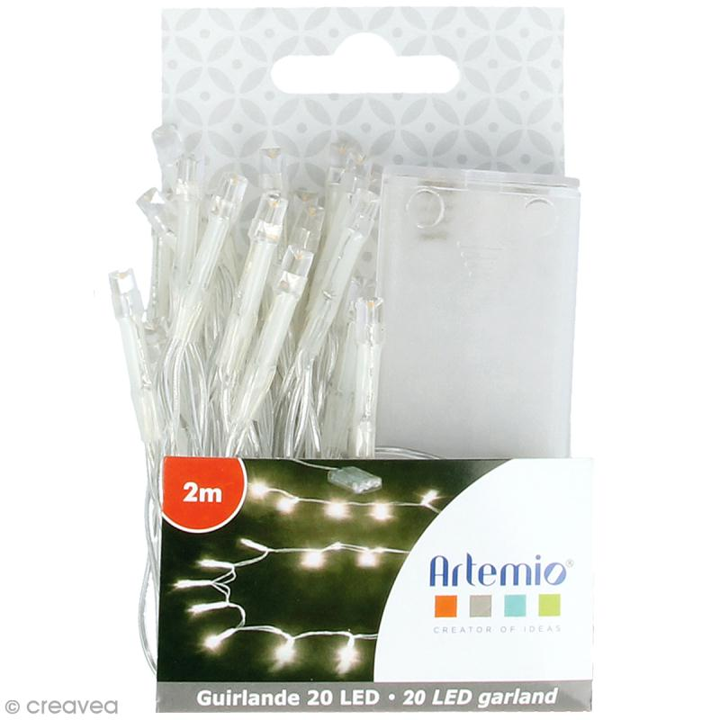 Guirlande lumineuse LED Artemio - 200 cm - 20 ampoules - Photo n°1