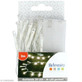 Guirlande lumineuse LED Artemio - 200 cm - 20 ampoules