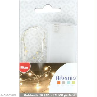 Guirlande lumineuse LED Artemio - 90 cm - 10 ampoules