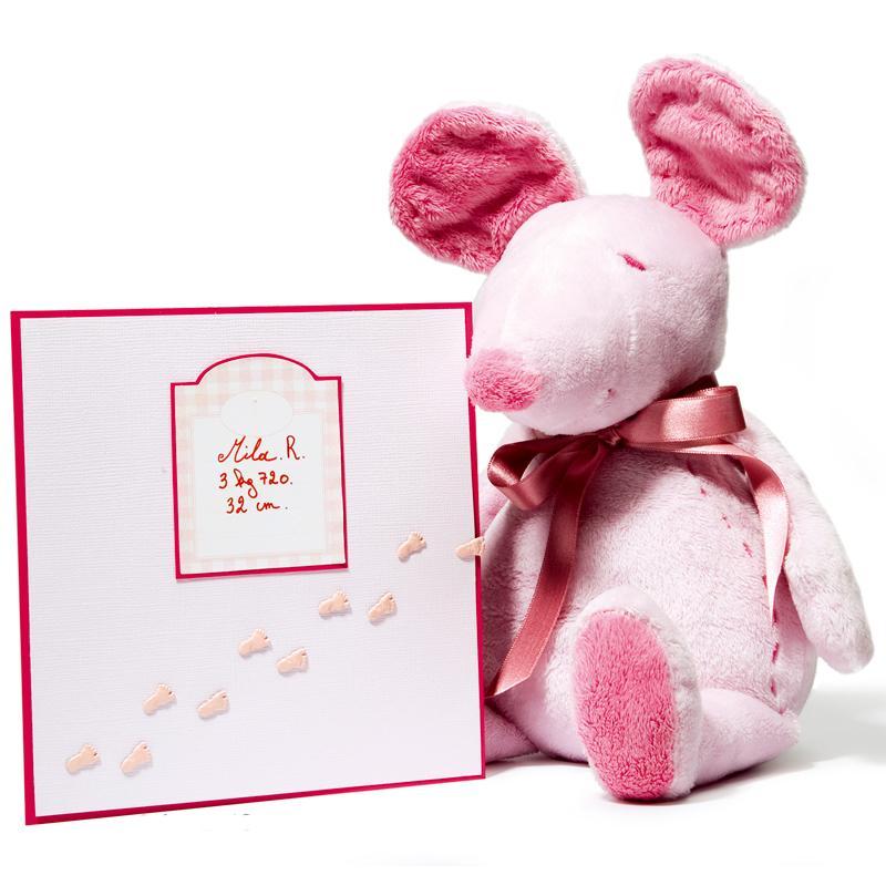 Attaches parisiennes mini Pieds roses x 20 - Photo n°2