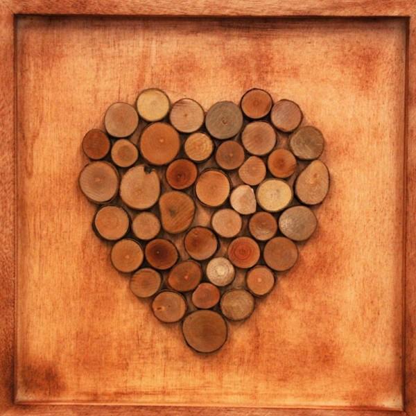 Rondelles de bois décorative - 15 à 30 mm - 180 g - Photo n°3