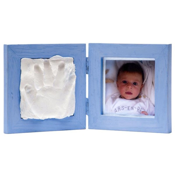 Cadre empreinte bébé et photo - petit kit - Photo n°2