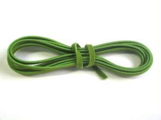 3 X 1M Cordon De Laine Aspect Daim Couleur Vert