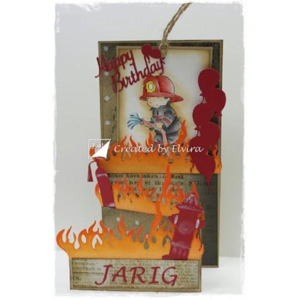 Die Joy Crafts - borne à incendie - Photo n°2
