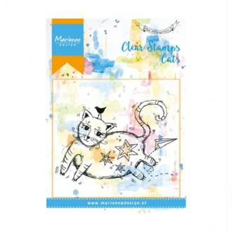 Tampon clear Marianne Design - Gros chat