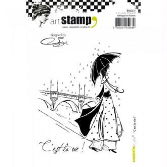 Tampon cling - C'est la vie! - Carabelle Studio - A6
