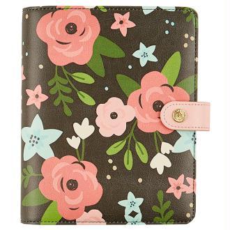 Planner Simple stories Carpe Diem personal 19x15x4cm black blossom