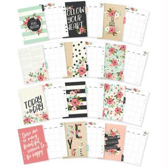 Lot d'intercalaires Bloom pour planner A5 Simple stories Carpe Diem
