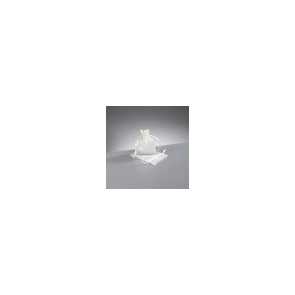 Sachet Bourse en organza , Pochon en organdi, 7,5 cm x 10 cm - Photo n°1