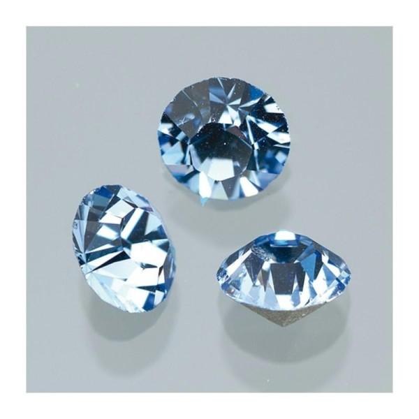 lot de 50 cabochon imitation pierre diamètre 10 mm scrap déco bijou