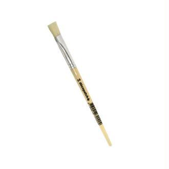 Pinceau pure soie N°10, Largeur 1 cm, pour enduire le papier Décopatch