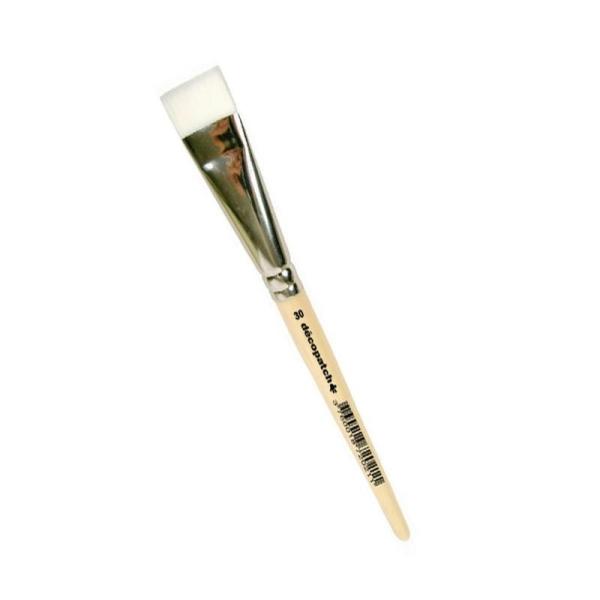 Pinceau en Nylon N°30, Largeur 3 cm, pour une application uniforme - Photo n°1
