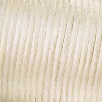 Cordelette à tresser en satin, diam. 1,5 mm, 6 mètres, sous blister