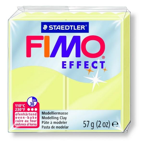 Pâte Fimo Effect couleur Vanille n°105, Pain polymère de 57g à cuire au four - Photo n°1