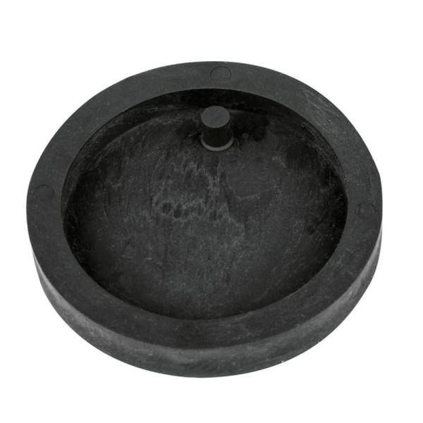 Moule à bijoux rond pour béton, Pendentif en caoutchouc flexible, diam. 3,9 cm, remplissage 7 mm - Photo n°1