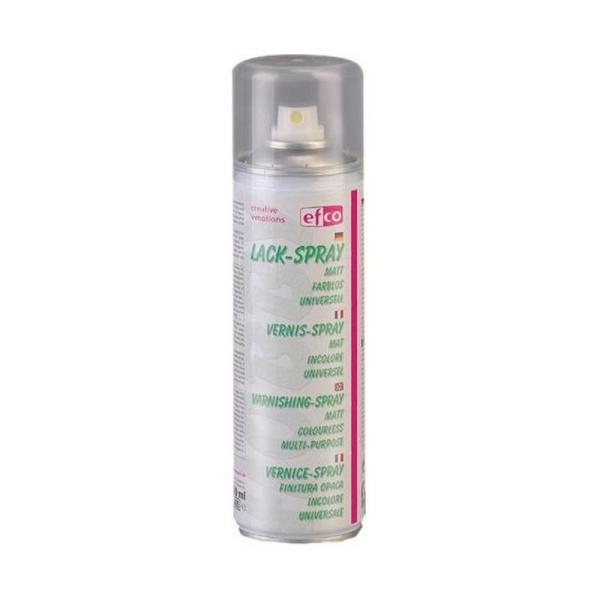 Aérosol Vernis spray, 300 ml Effet Mat, Translucide pour une protection rapide de vos surfaces fragi - Photo n°1