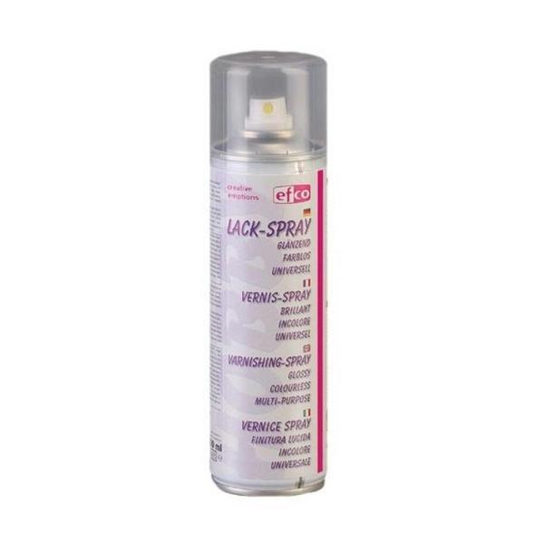 Aérosol Vernis spray, 300 ml Effet Brillant, Translucide pour une protection rapide de vos surfaces - Photo n°1