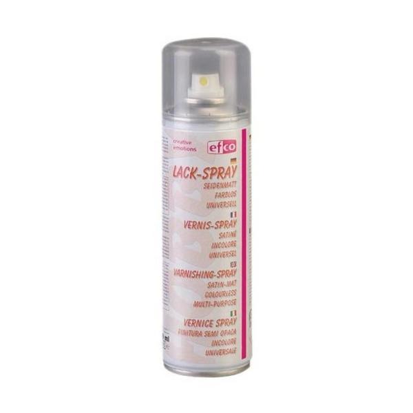 Aérosol Vernis spray, 300 ml Effet Satiné, Translucide pour une protection rapide de vos surfaces fr - Photo n°1
