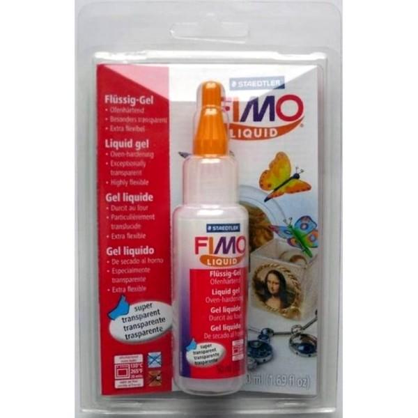 Fimo liquide transparente et extra flexible, Pâte polymère fluide gel durcissant au four, 50ml - Photo n°2