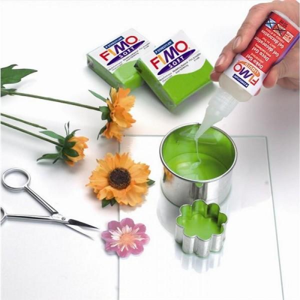 Fimo liquide transparente et extra flexible, Pâte polymère fluide gel durcissant au four, 50ml - Photo n°3