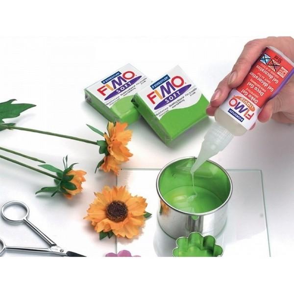 Fimo liquide transparente et extra flexible, Pâte polymère fluide gel durcissant au four, 200ml - Photo n°2