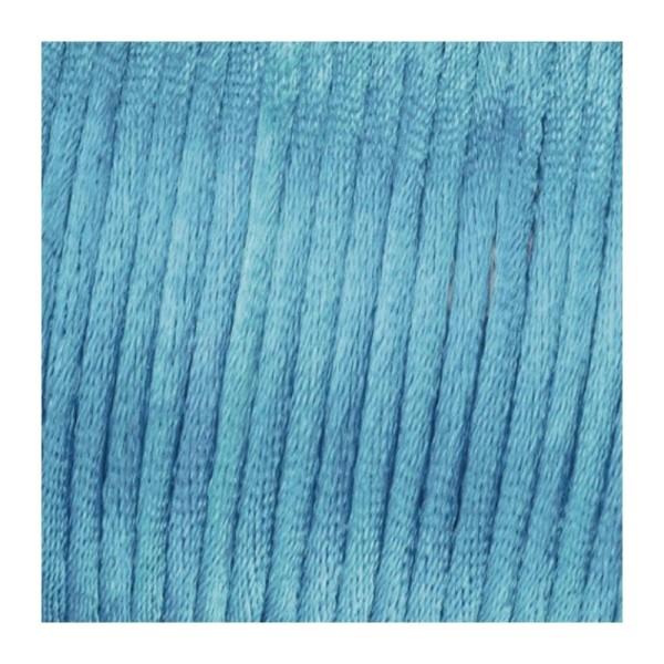 Cordelette à tresser en satin, diam. 1,0 mm, 6 mètres, sous blister - Photo n°1