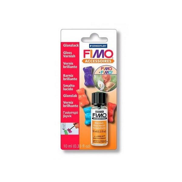 Vernis lack spécial Fimo, flacon de 10 ml - Photo n°1