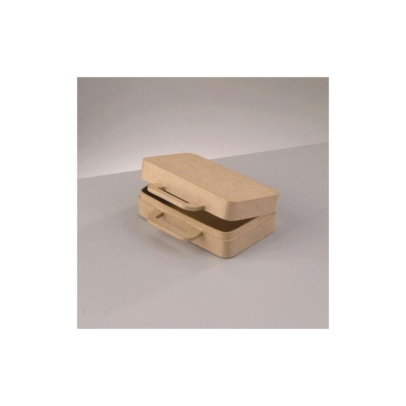 Valisette en carton dur 16x12x5cm customiser en objet - Objet deco cuisine rouge ...