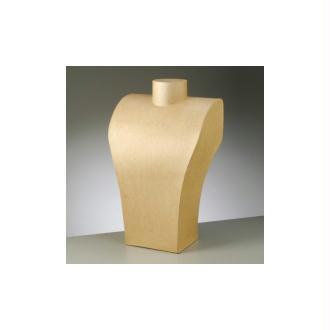 Buste en carton, 24 x 39 cm, Buste femme en carton, 20 x 29 cm, pour présentoir Collier, &agr