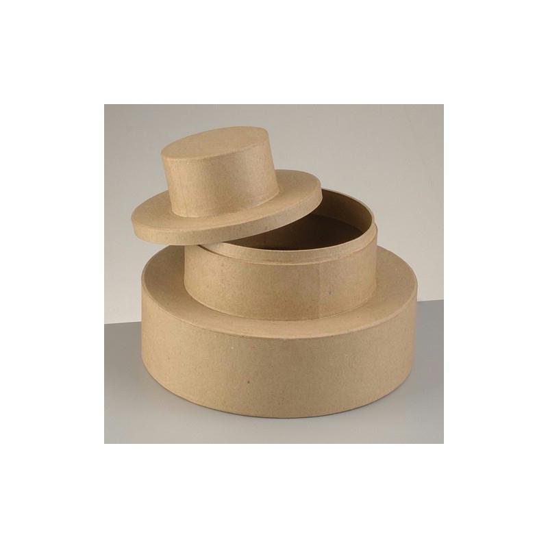 boite g teau de mariage urne en carton avec couvercle diam tre de base 23 cm hauteur urne. Black Bedroom Furniture Sets. Home Design Ideas