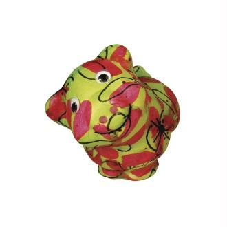 Cochon en polystyrène, Hauteur 11 cm x longueur 15 cm x largeur 9 cm
