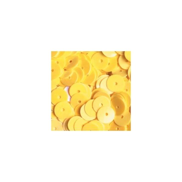 Paillettes rondes plates, ø 6 mm, Boite de 500 pièces - Photo n°1
