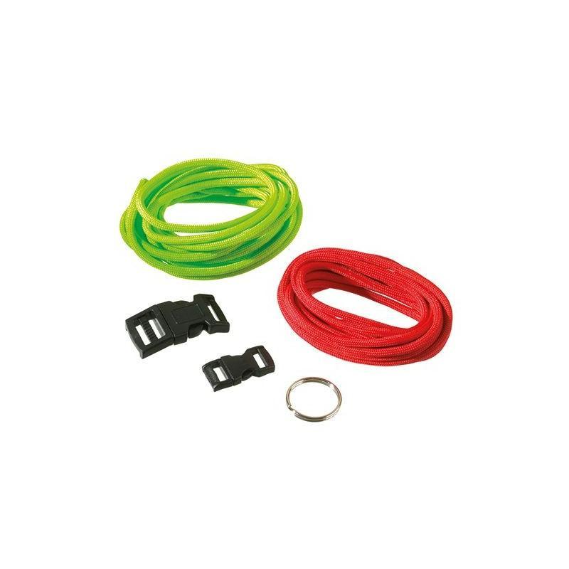 Kit de r alisation pour 2 bracelets paracorde rouge et for Porte et fenetre pour cabanon