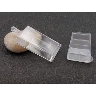 10 Boîtes De Rangement Transparentes Pour Perles