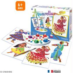 Jeu créatif Aquarellum Junior Danseuses folkloriques