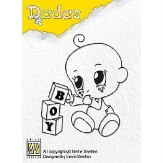 Tampon clear - Baby boy - Nellie Snellen