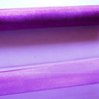 1 mètre de tissu organza couture scrapbooking décoration 1 m x 28 cm VIOLET