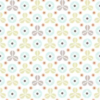 Tissu fond motifs géométriques