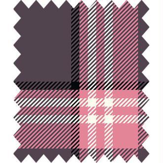 Tissu ecossais fenton house rose gutermann