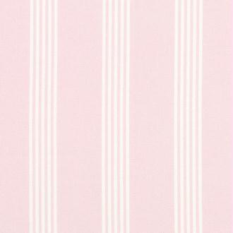 Tissu gut rose et blanc raye