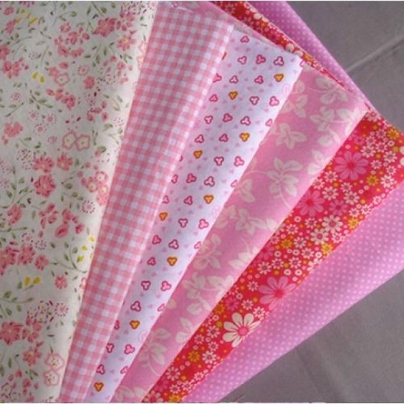 6 coupons tissu patchwork coton couture 40 x 50 cm tons. Black Bedroom Furniture Sets. Home Design Ideas