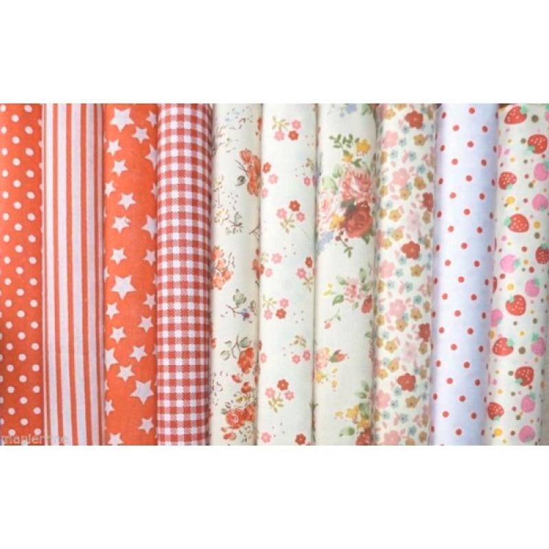 10 coupons tissu patchwork coton couture 40 x 50 cm tons. Black Bedroom Furniture Sets. Home Design Ideas