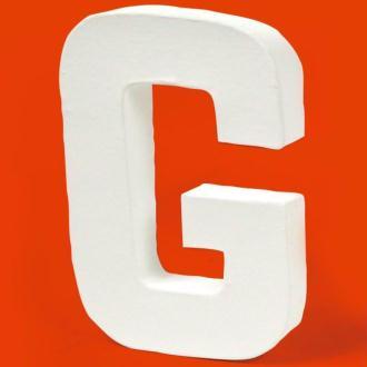 Lettre en carton G